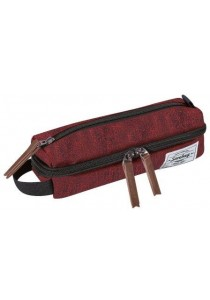 Trousse VERTICAL-Rouge/ bordeaux