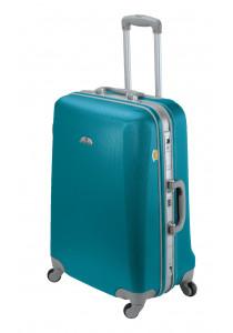 Valise ASHOKA rigide moyenne taille 59 cm Bleu Lagon