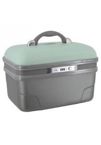 VANITY RIGIDE 34 cm ASHOKA-Vert d'eau/gris étaim