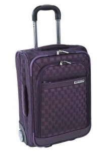 VALISE ROLLER LOW COST SQUARE-Dahlia