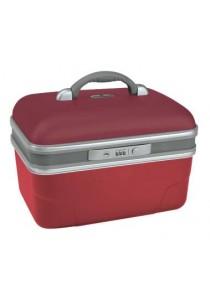 -VANITY RIGIDE 34 cm-Rouge coquelicot/ Ecarlate
