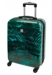 TROPICAL-Valise cabine Feuillages