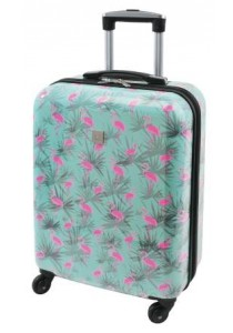 TROPICAL-Valise cabine Flamant