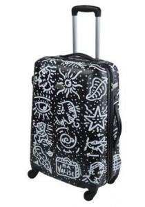 Grande Valise ABS rigide 69 cm TSA-SPIESSERT-zippée-noir