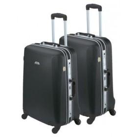 Set de 2 valises rigides ASHOKA-Noir