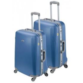 Set de 2 valises rigides ASHOKA-Bleu Lazuli