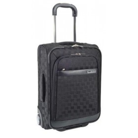 VALISE CABINE COMPAGNIES 'LOW COST' SQUARE-Noir