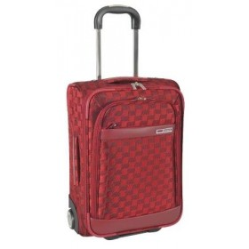 VALISE ROLLER LOW COST SQUARE-Rouge