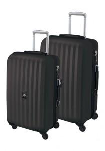 SET OF 2 STREET LINE TSA suitcases