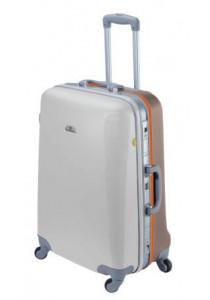 ASHOKA Large suitcase- Cotton / Caramel
